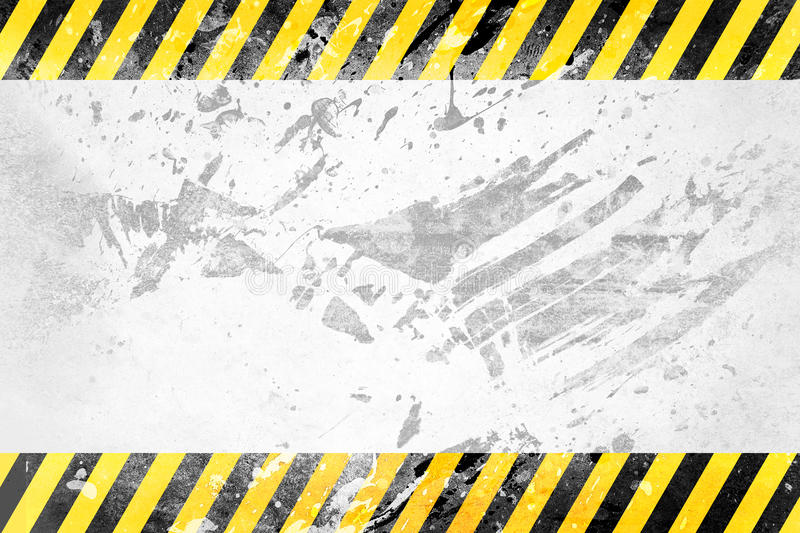 Under construction template royalty free illustration