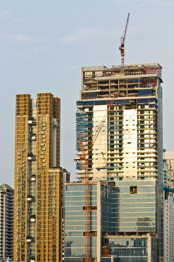 Free Under Construction Tower Royalty Free Stock Image - 18149636