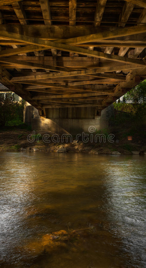 Download Under the Covered Bridge stock photo. Image of pennsylvania - 22380168