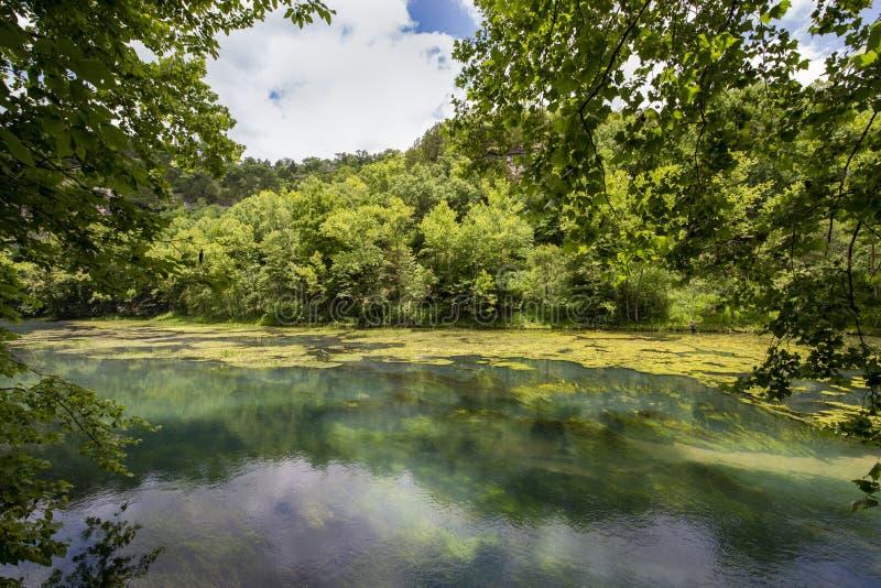 Under ground spring water stock photos