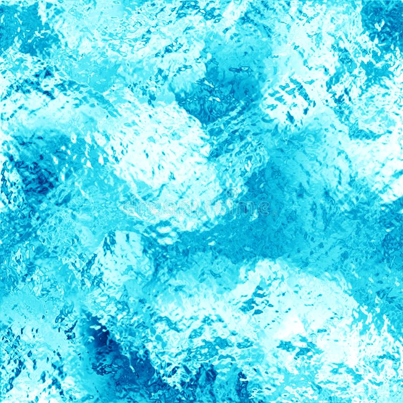 Under Ice Water Abstract Background stock photo