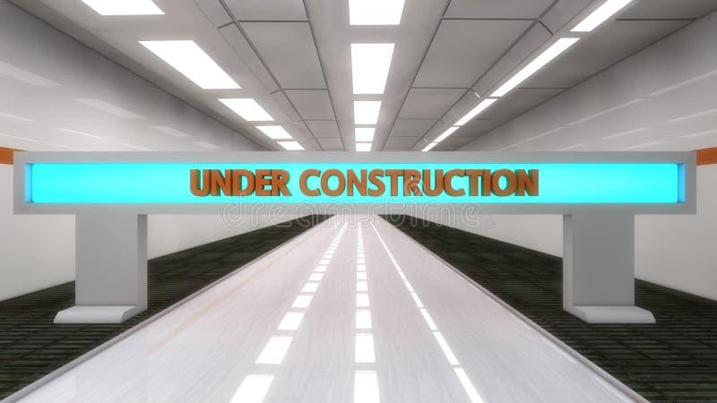 Download Under konstruktion stock illustrationer. Illustration av modernt - 37348696
