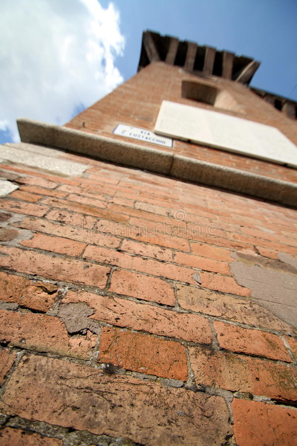 Download Under The Medieval Tower Stock Photo - Image: 17040290