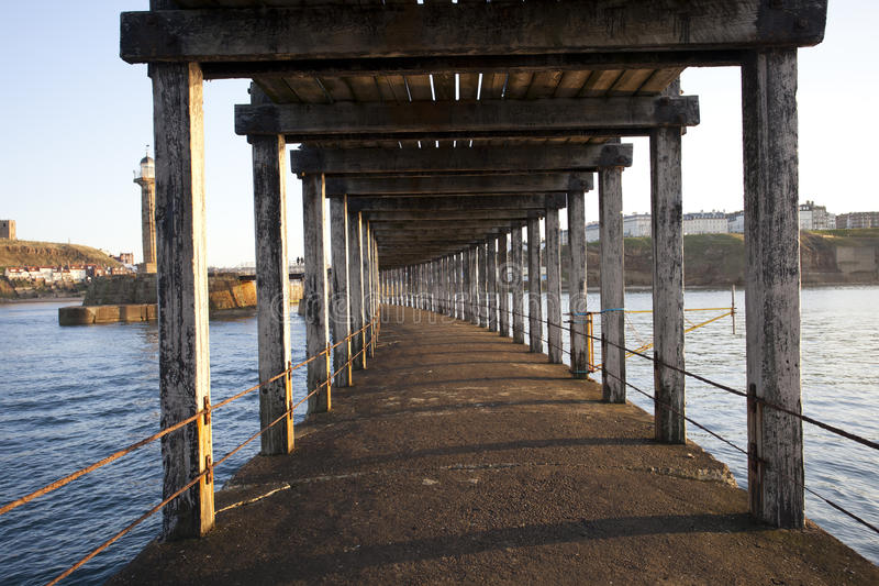 Under A Pier Royalty Free Stock Images