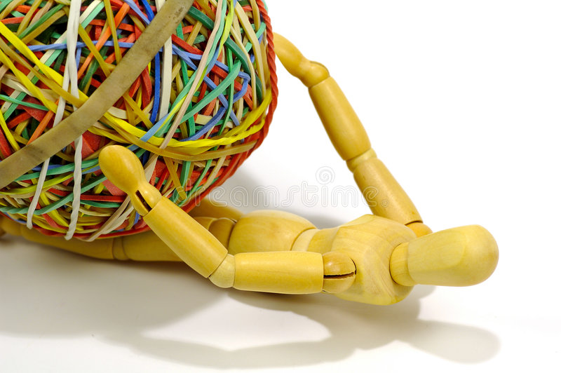 Download Under Pressure stock image. Image of rubberband, stress - 84271