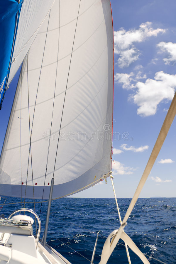 Under sail royalty free stock photography