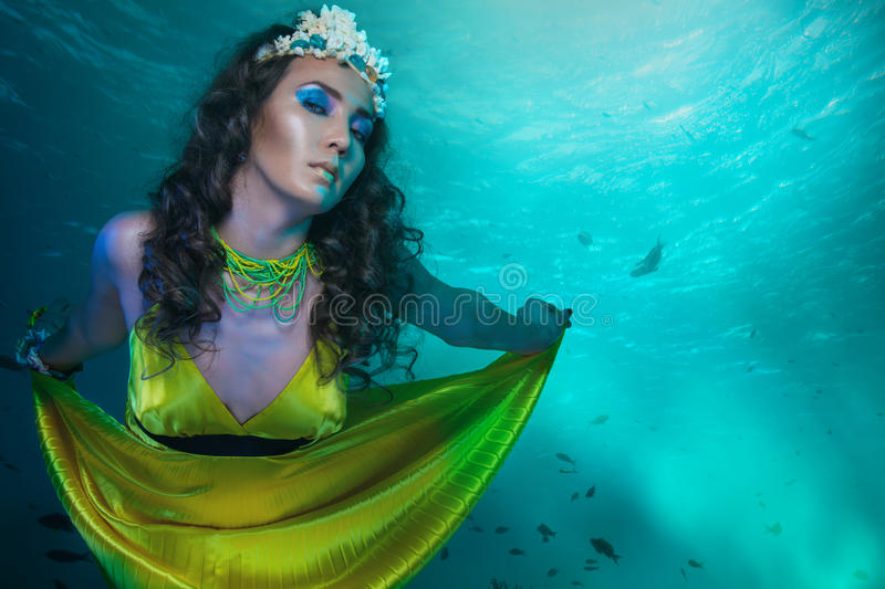 Download Under the sea stock photo. Image of magic, dream, look - 19151708