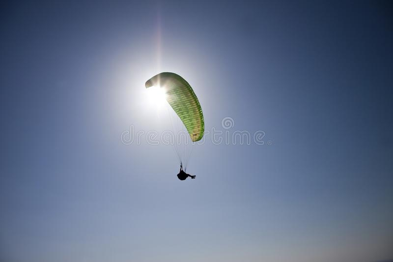 Download Under the sun stock photo. Image of seat, paragliding - 19670180