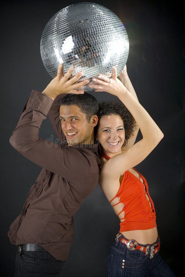 Free Under The Disco Ball Royalty Free Stock Image - 3283146