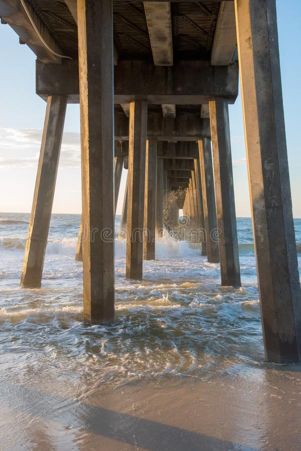 Free Under The Pier Royalty Free Stock Photos - 107519788