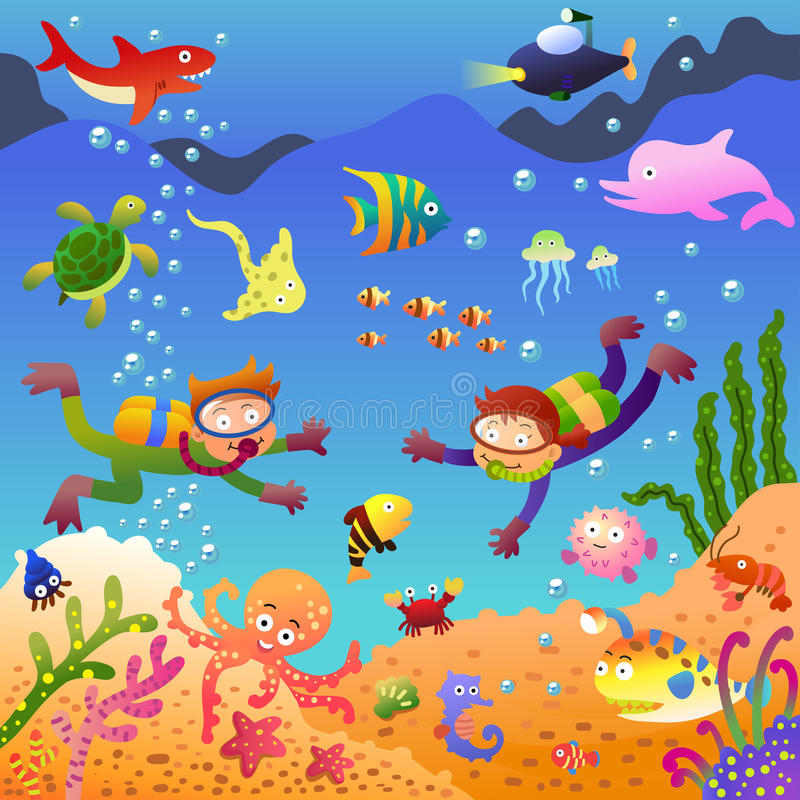 Free Under The Sea Stock Photos - 33490553