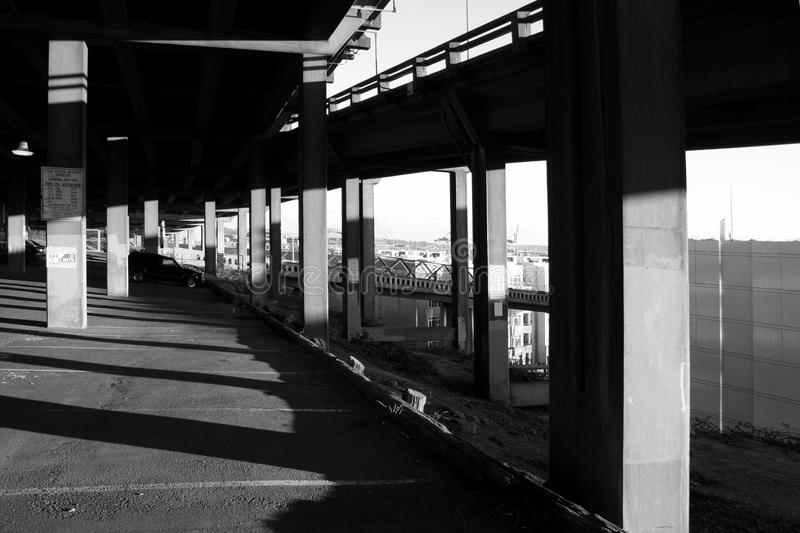 Under The Viaduct royalty free stock photo