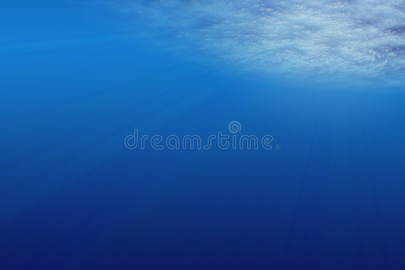Download Under water stock illustration. Image of flare, color - 8871670