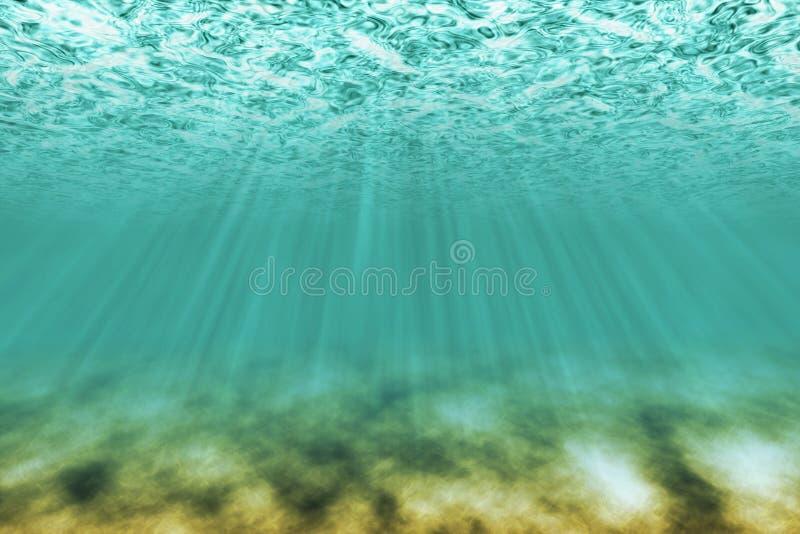 Download Under water scene stock illustration. Image of underwater - 17716549