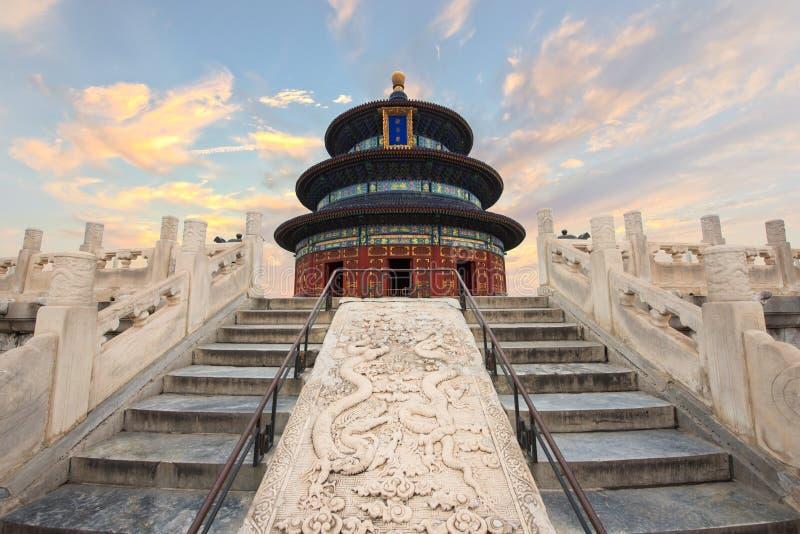 Underbar och fantastisk Pekingtempel - tempel av himmel i Beiji royaltyfri bild