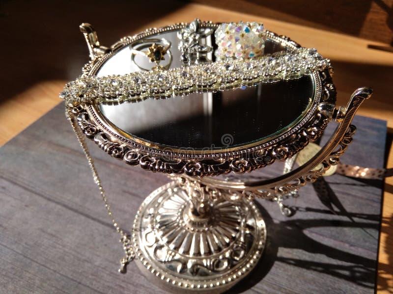Underbara cristal smycken royaltyfria foton