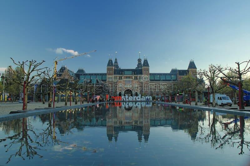 Underbara landskapfoto på holland royaltyfri foto