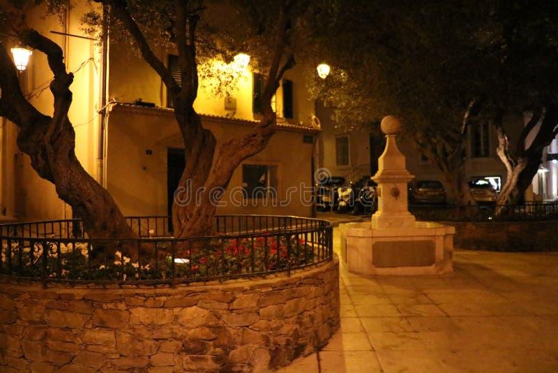 Underbara sikter av Saint Tropez i ` Azur France för skjul D royaltyfria bilder