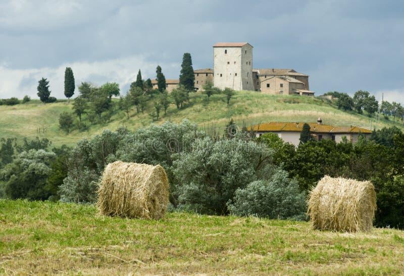 underbara tuscany arkivfoton