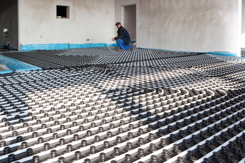 Download Underfloor Heating And Cooling Stock Image - Image: 18491315