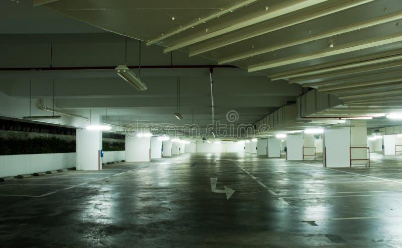 Download Underground Carpark Interior Stock Image - Image of illuminated, architecture: 8834771