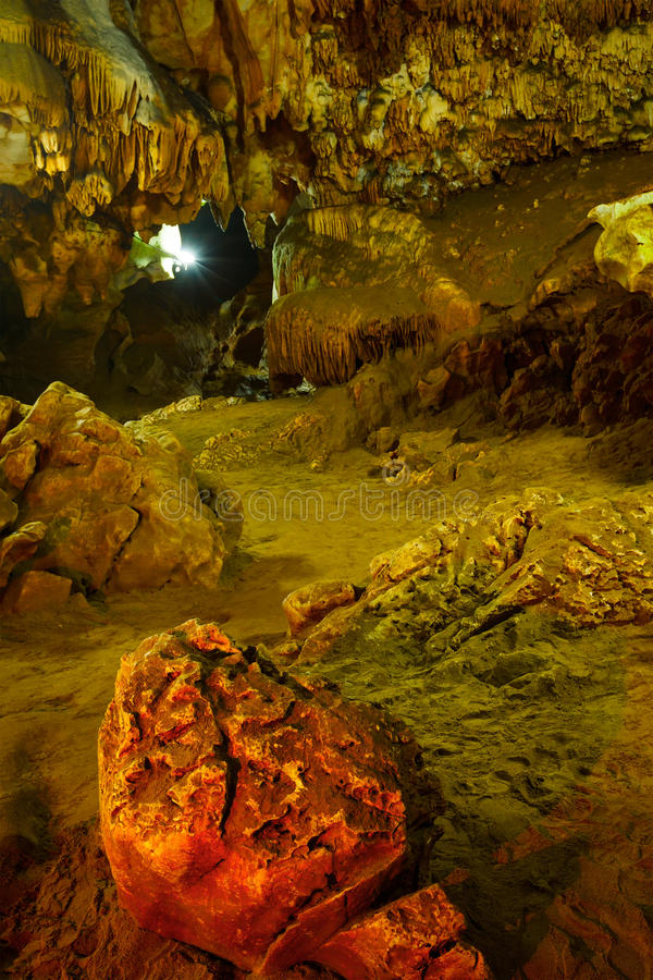 Download Underground caves stock image. Image of indoors, speleology - 25168067