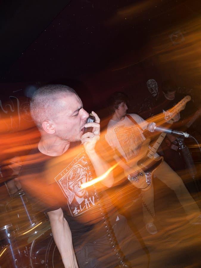 Underground Concert Editorial Image