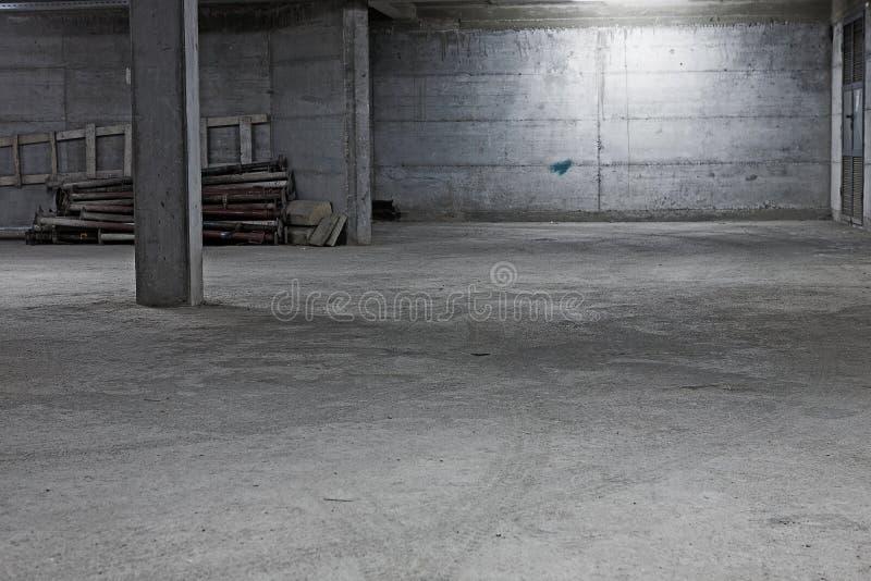 Download Underground Garage Construction Stock Photo - Image of interior, cement: 28346252