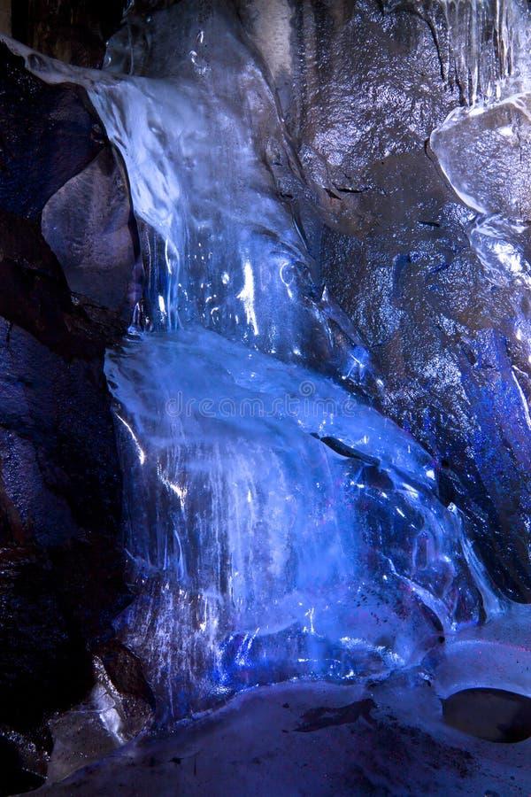 Underground Ice Falls