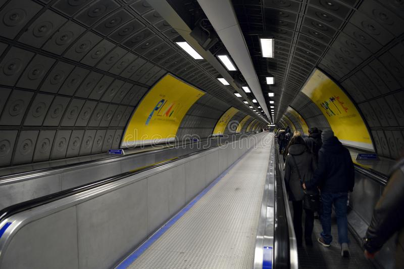 Underground royalty free stock photography