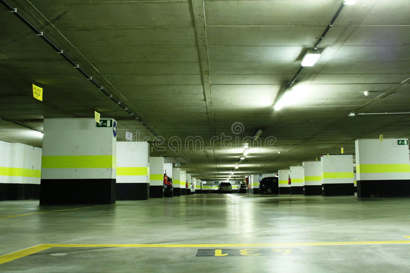 Download Underground parking stock photo. Image of place, house - 20021916