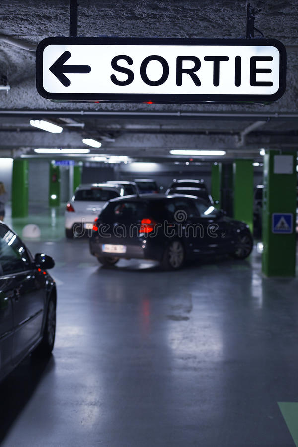 Download Underground Parking Royalty Free Stock Photography - Image: 28356257