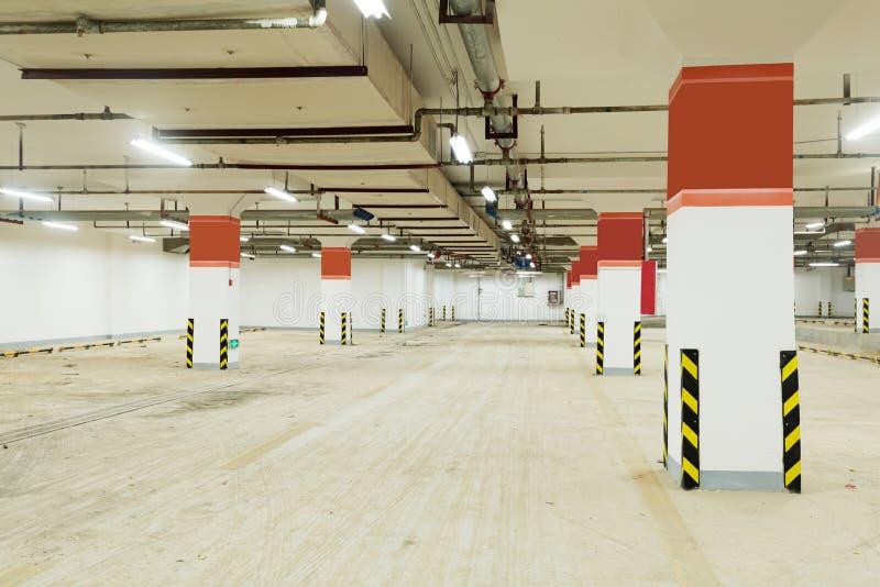Download Underground parking stock image. Image of metal, empty - 35881483