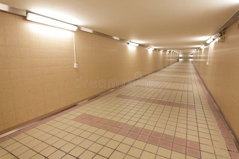 Download Underground passage stock image. Image of illuminated - 28579913