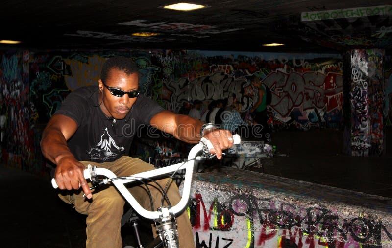 Underground punk area royalty free stock images