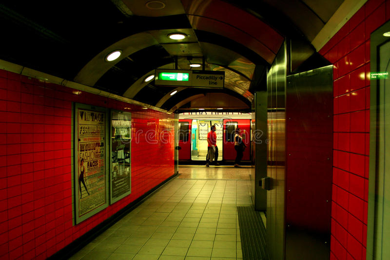 Download Underground Station In London Editorial Photography - Image: 22995787