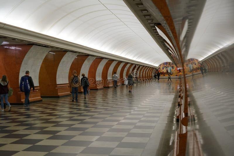 Underground subway stock images