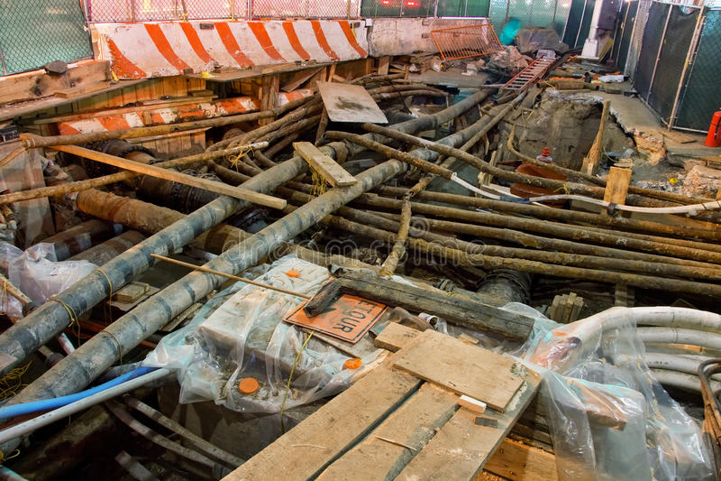 Download Underground Utility Repairs Stock Image - Image: 16193273