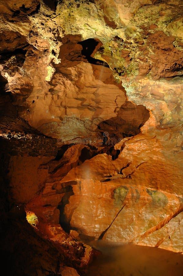Underground Waterfall Royalty Free Stock Photo