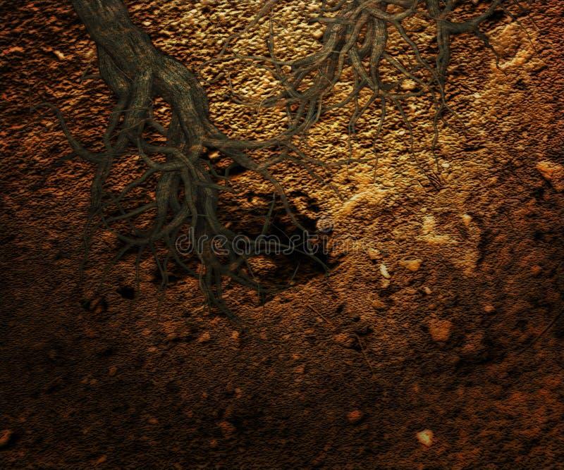 Underjordisk bakgrundstextur royaltyfri fotografi