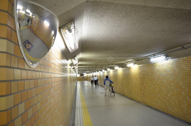 Underjordisk passage royaltyfria foton