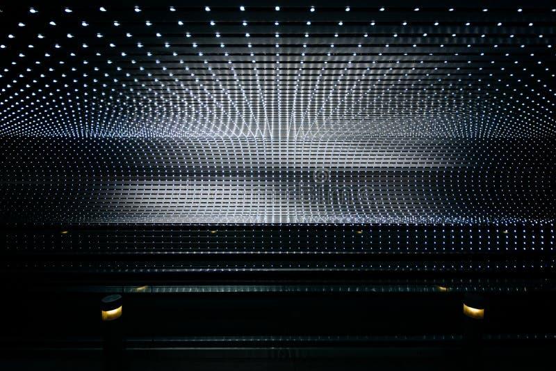 Underjordisk rullbandstrottoar på National Gallery av konst, i Wa arkivbilder