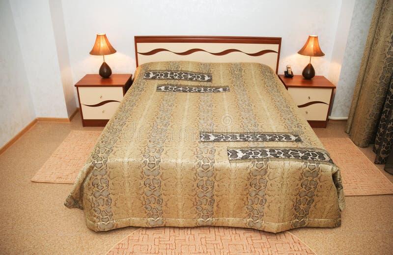 Underlag i sovrummet royaltyfri bild