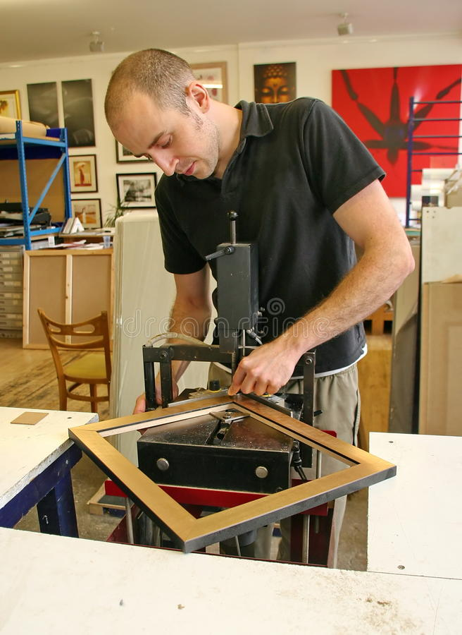Underpinner del fundador de cuadro imágenes de archivo libres de regalías