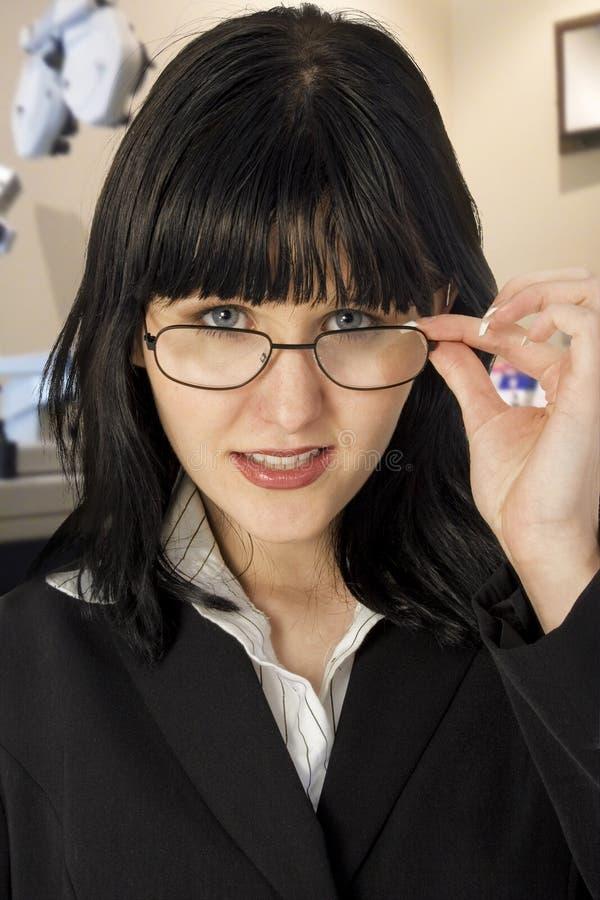 undersökningsögonlokal arkivbilder