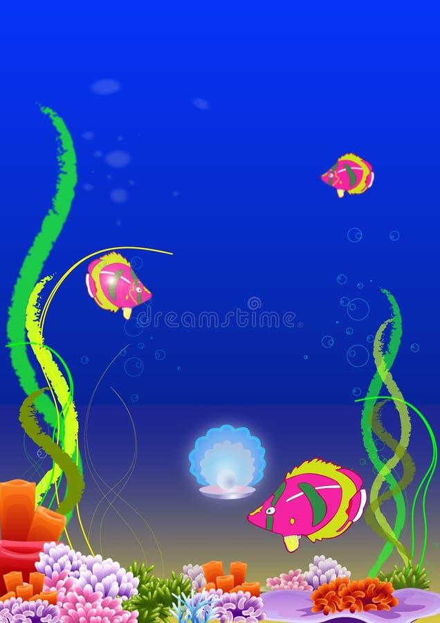 Download Undersea world stock vector. Illustration of bubble, undersea - 8568197