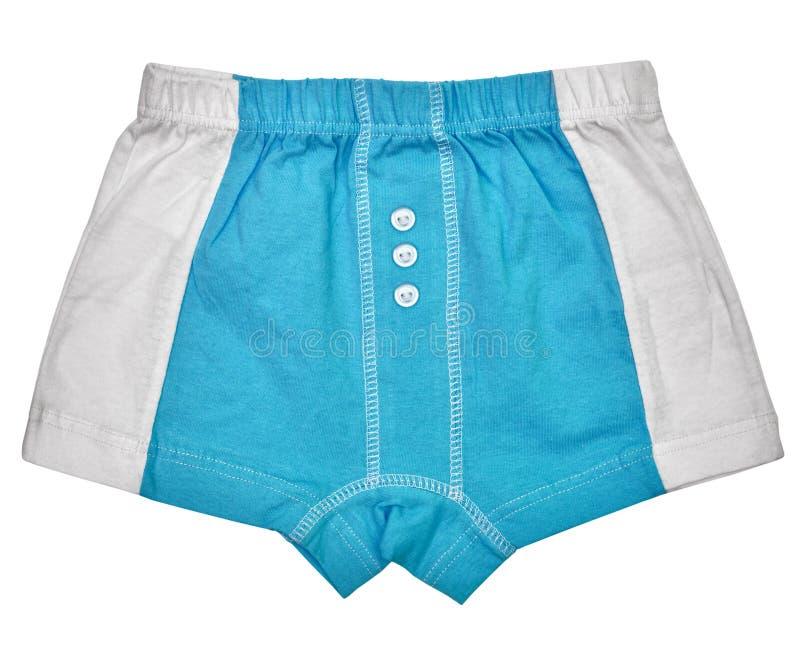 Undershorts - Grau und Blau stockbilder