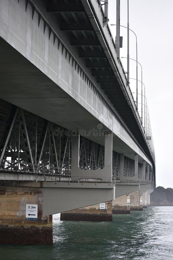 Undersida av hamnbron royaltyfria bilder