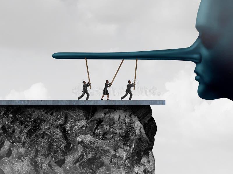 Understödjande korruption stock illustrationer