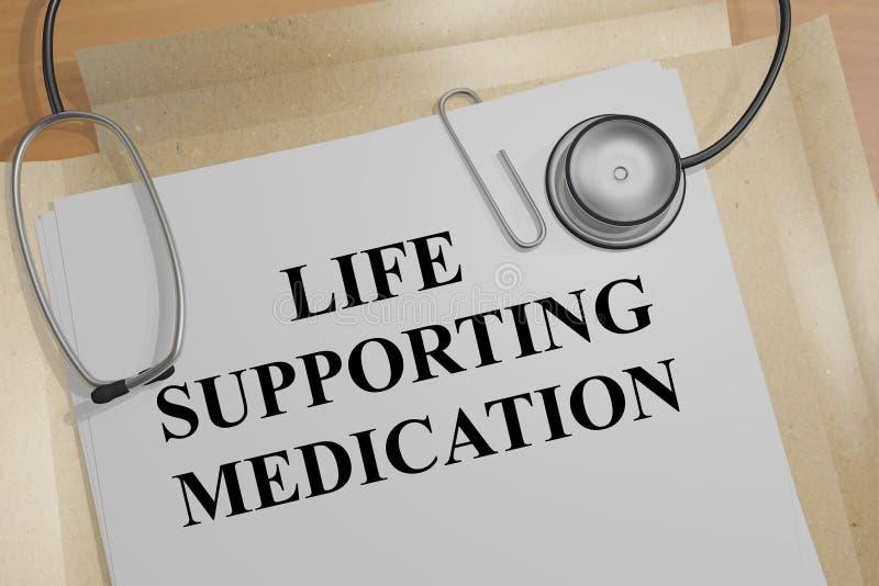 Download Understödjande Läkarbehandlingbegrepp För Liv Stock Illustrationer - Illustration av injektion, doktorer: 78730779